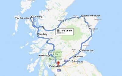 Nos plans pour l'Écosse VS ce qu'il s'est réellement passé