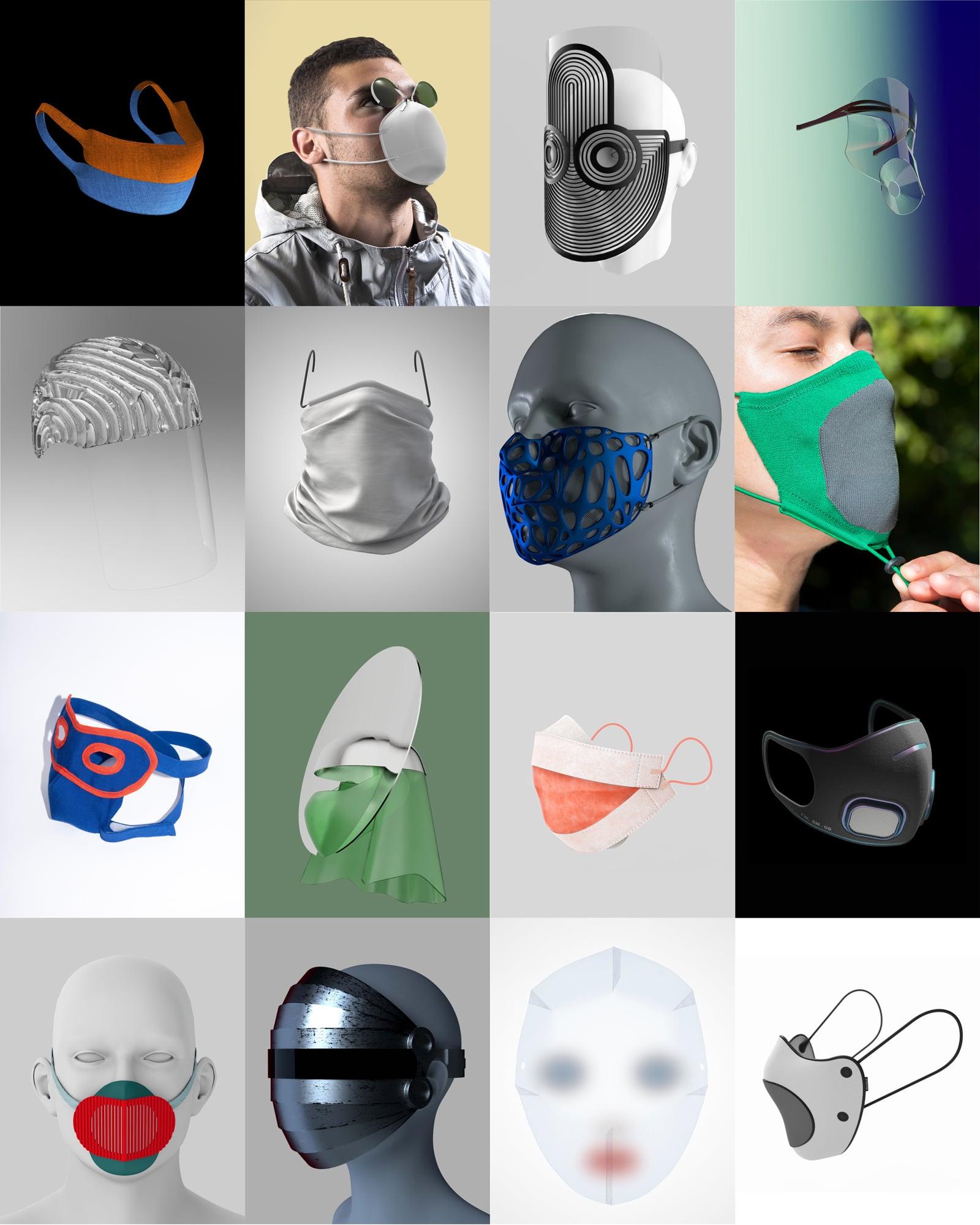 Masque Design Designer Suisse Coronavirus Covid-19 Actualités