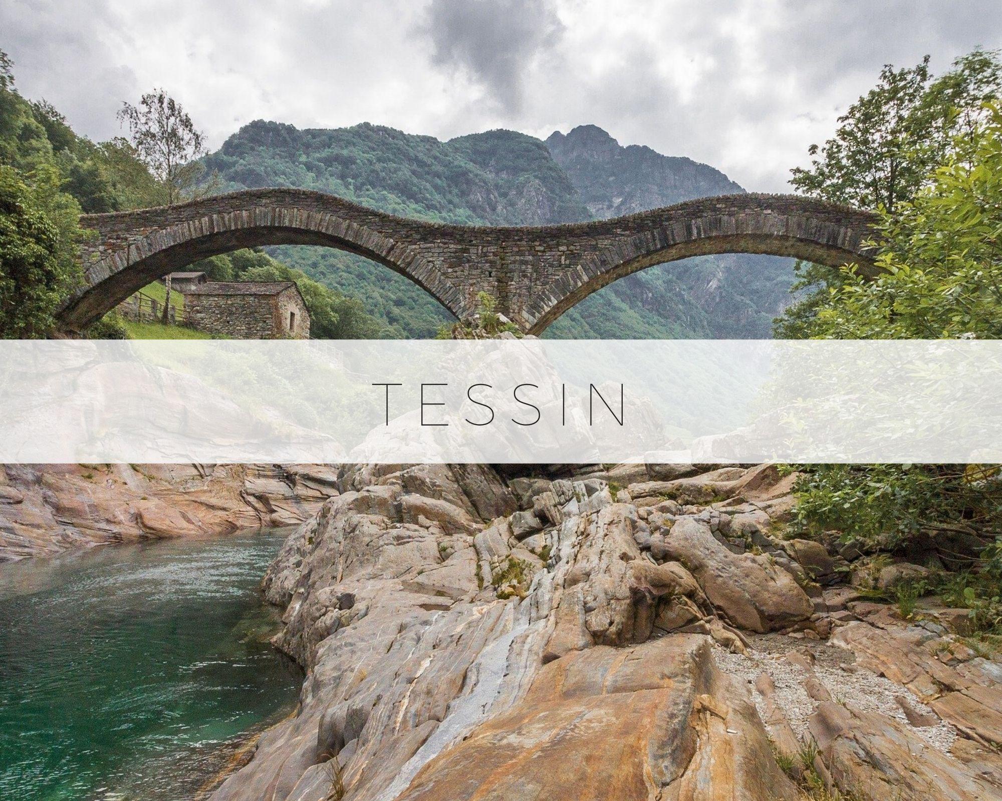 Tessin Lugano Locarno Suisse Canton Visite Endroit Lieu Voyage