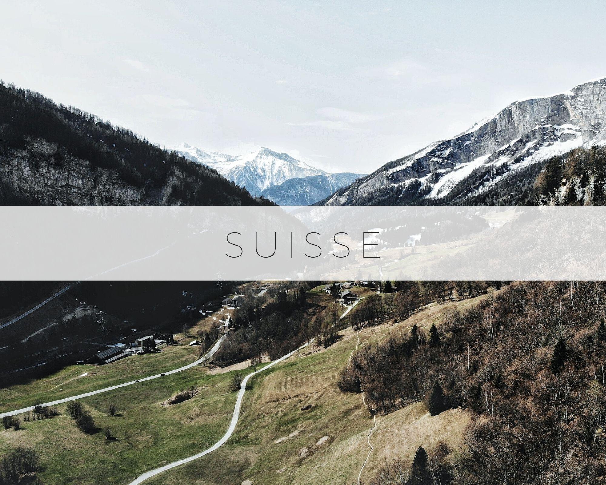 Suisse Montagnes Lacs Voyage Travel Destination Blog
