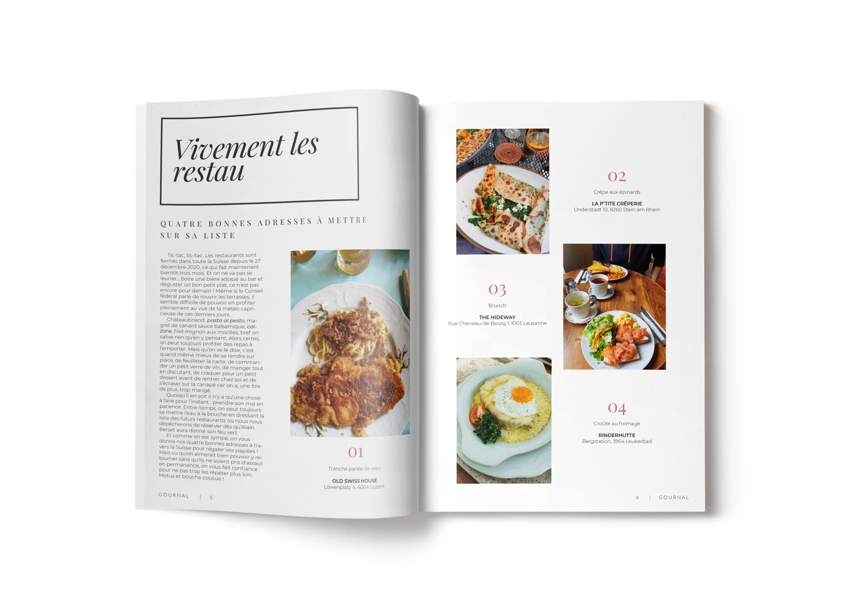 Magazine Blog Gournal Mode Édition Voyage Société